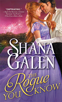 Monday Give Away: The Rogue You Know by Shana Galen